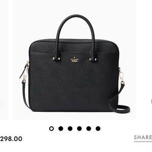 "Kate Spade 13"" saffiano laptop bag"